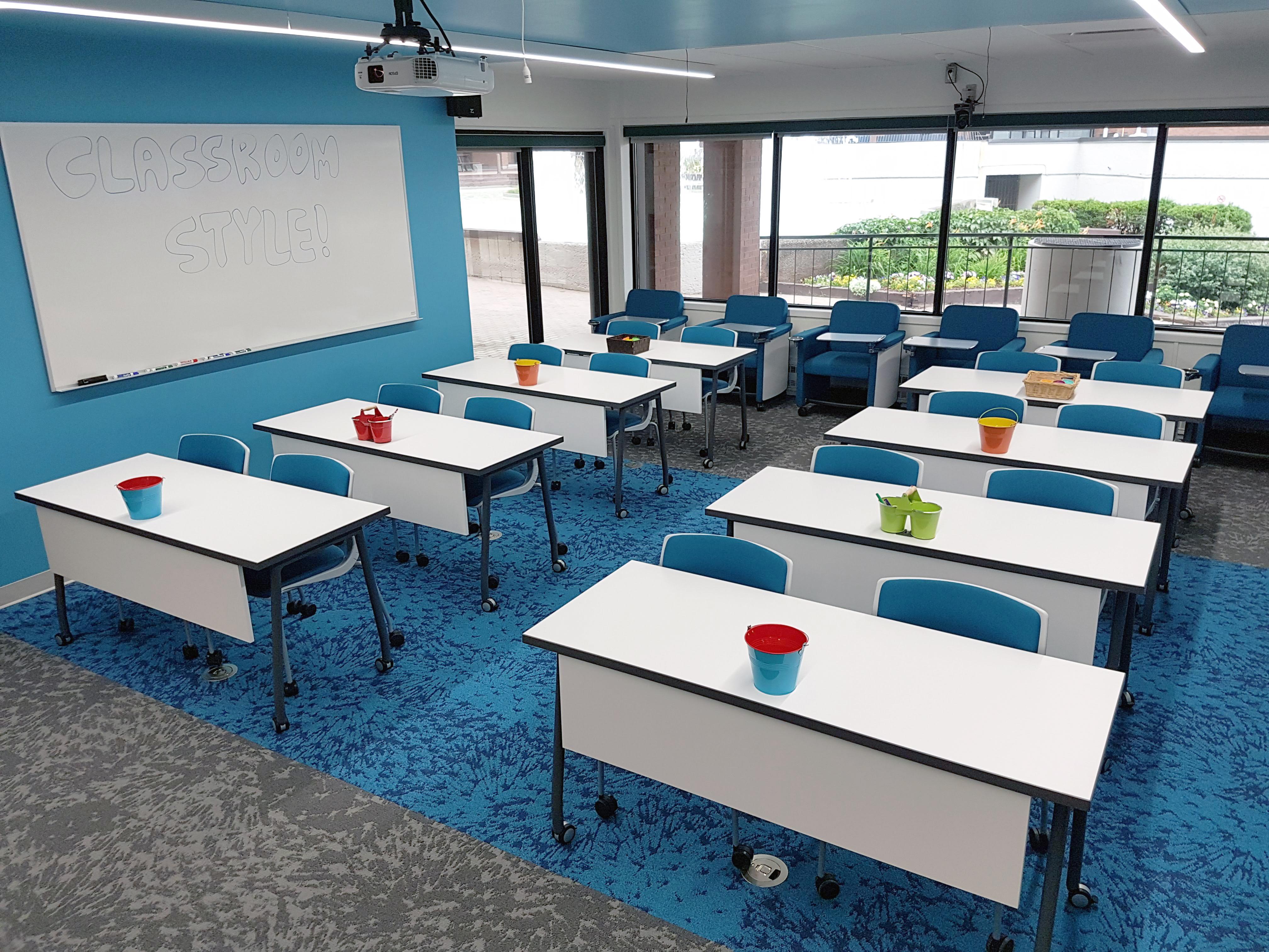 Hub Classroom Classroom Style