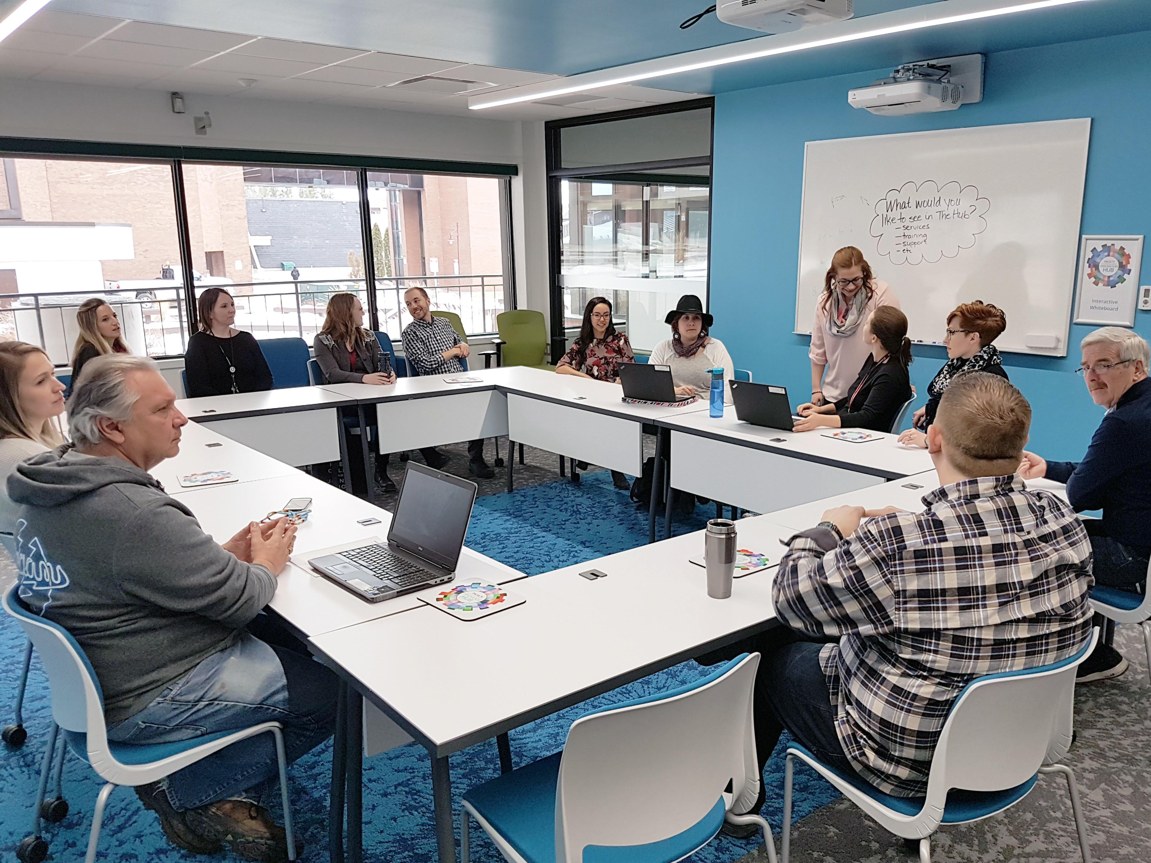 Hub Classroom Participants
