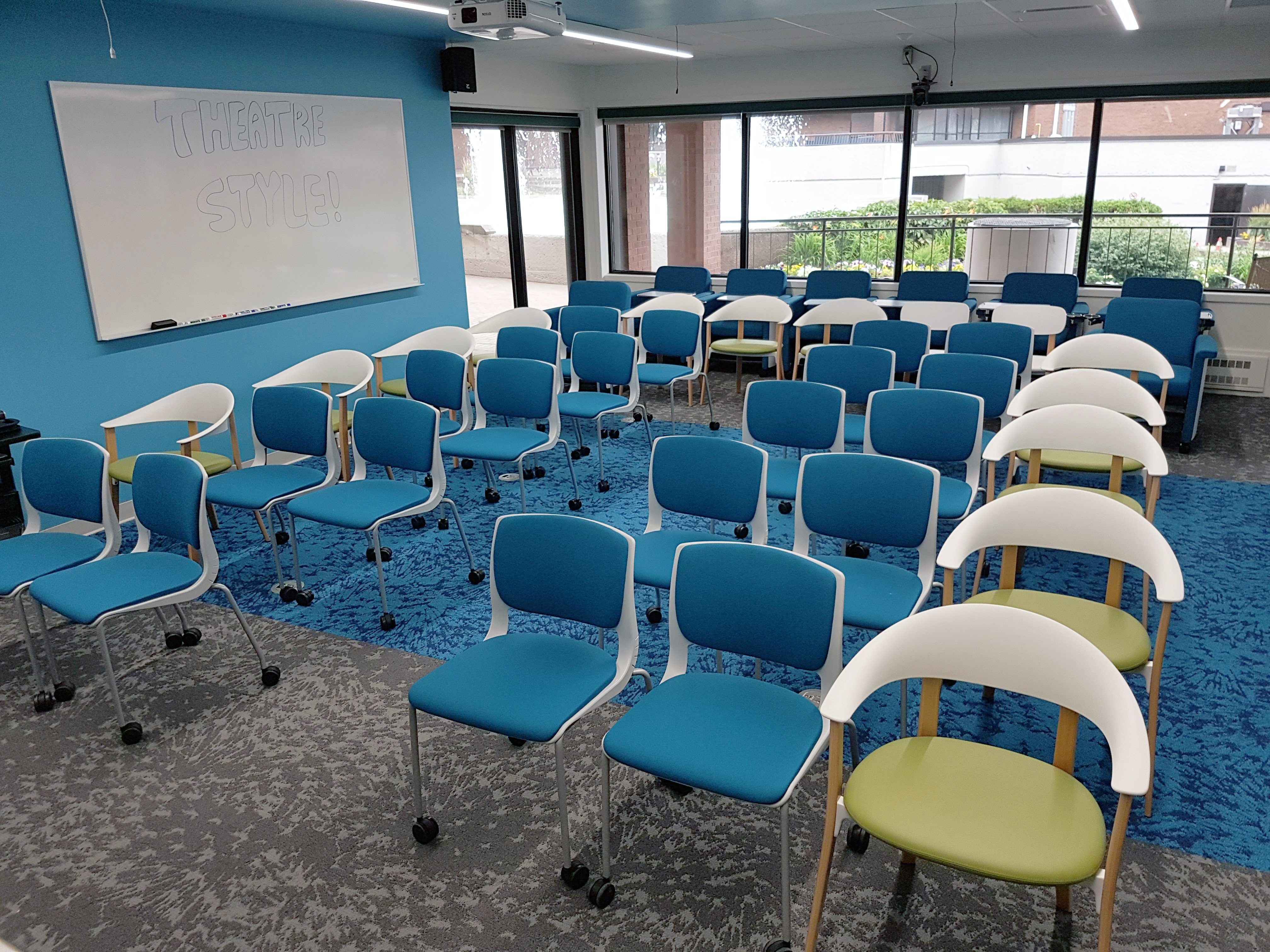 Hub Classroom Theatre Style