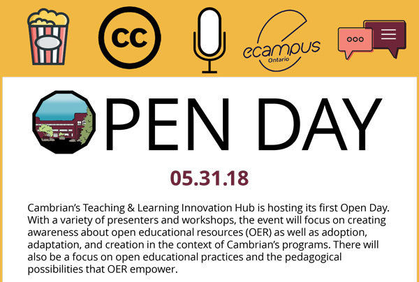 Open Day Invitation