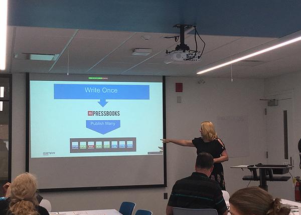 Photo from Open Day: Joanne Kehoe's presentation