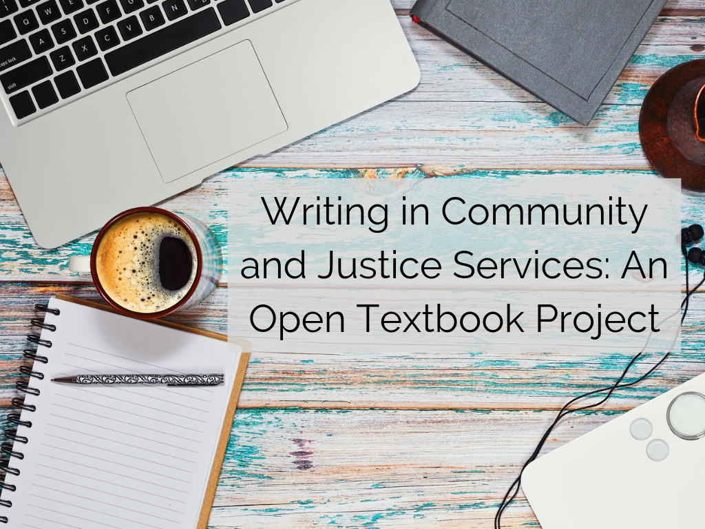 Writing in Community and Justice Services - Open Textbook Project