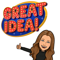 Laura Killam's Bitmoji