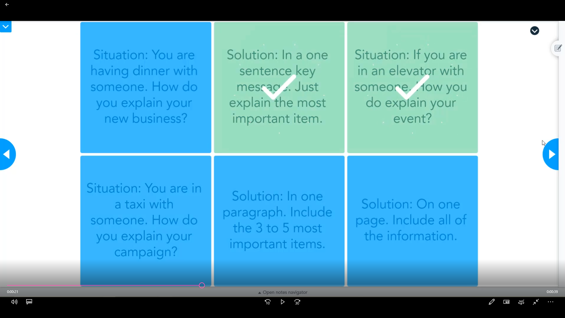 Screenshot of a Nearpod activity