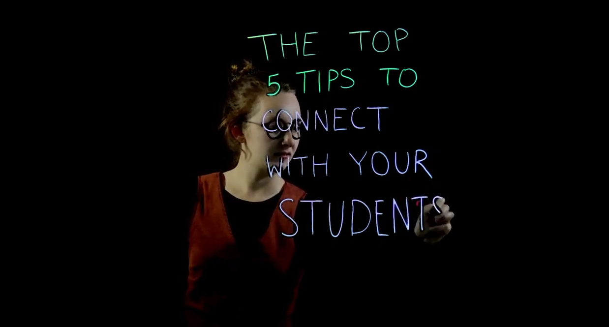 5 Tips to Connect with your Students