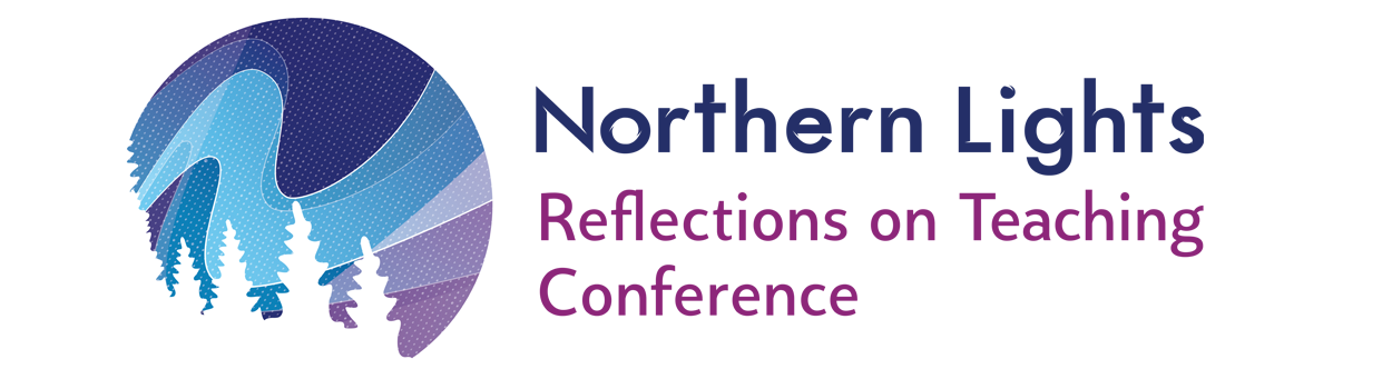 Northern Lights - Reflections on Teaching Conference Logo